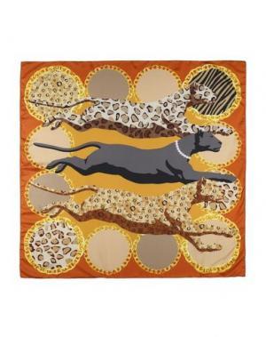 Платок MARINA D'ESTE. Цвет: коричневый