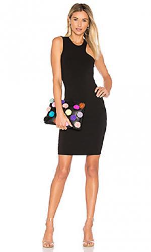 Обтягивающее платье sarah LA Made. Цвет: черный