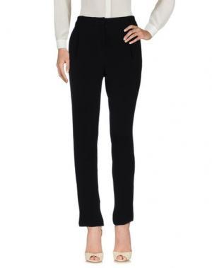 Повседневные брюки LALTRAMODA. Цвет: черный