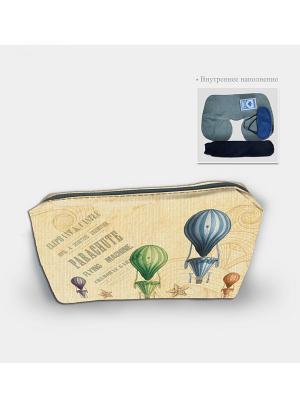 Набор в чехле из полиэстера Воздушные шары Magic Home. Цвет: бежевый
