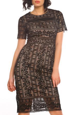Платье Emma Monti. Цвет: beige and black
