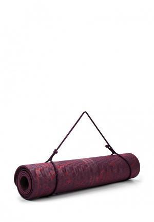 Коврик для йоги adidas Performance. Цвет: бордовый