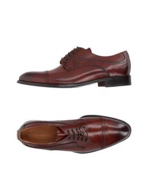 Обувь на шнурках ALESSANDRO DELL'ACQUA. Цвет: коричневый