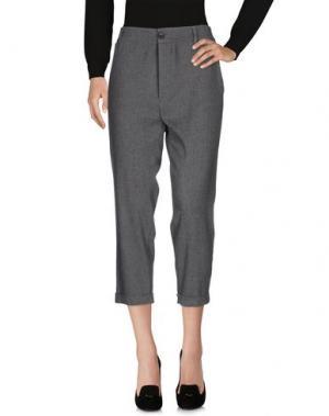 Повседневные брюки VIRNA DRÒ®. Цвет: серый