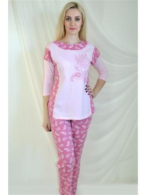 Пижама Miata. Цвет: розовый