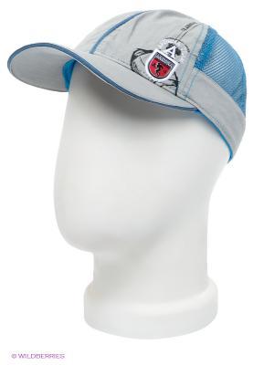 Бейсболка Maxval. Цвет: светло-серый, синий