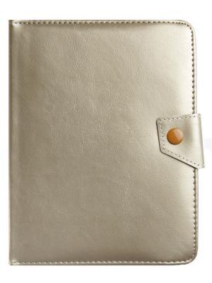 Универсальный чехол-книжка ProShield Universal с кипсой для планшетов 8. Цвет: золотистый