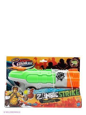 Супер Сокер Зомби Страйк Дрэдшот NERF. Цвет: синий, зеленый, красный, оранжевый