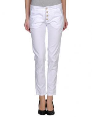 Повседневные брюки MICHAEL DASS. Цвет: белый