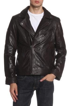 Куртка Barneys originals. Цвет: brown
