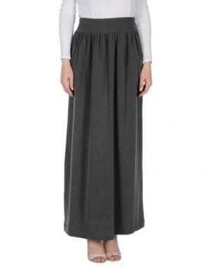 Длинная юбка M!A F. Цвет: серый