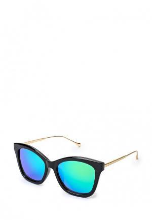 Очки солнцезащитные Befree. Цвет: черный