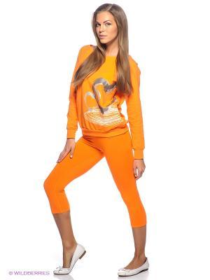 Капри Grishko. Цвет: оранжевый