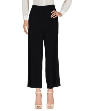 Повседневные брюки SIMONA CORSELLINI. Цвет: черный