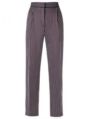 Striped trousers Reinaldo Lourenço. Цвет: чёрный