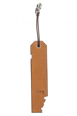 Закладка 164900 Numero 3. Цвет: коричневый