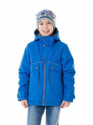 Куртка NIKASTYLE. Цвет: синий