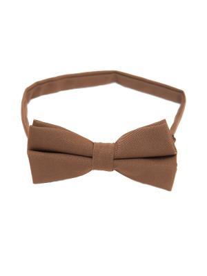 Галстук-бабочка Churchill accessories. Цвет: терракотовый, коричневый, темно-бежевый, бежевый