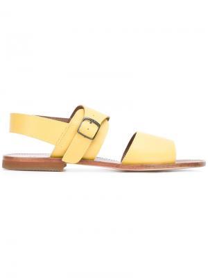 Single buckle sandal Daniela Gregis. Цвет: жёлтый и оранжевый