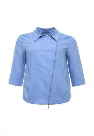 Рубашка Silver String. Цвет: голубой