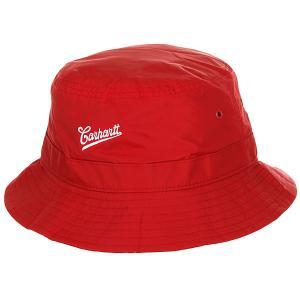 Панама  Strike Bucket Hat (6 Minimum) Chili / White Carhartt WIP. Цвет: красный