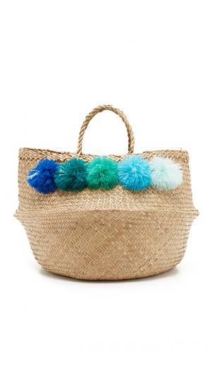 Объемная сумка с короткими ручками Venice Eliza Gran