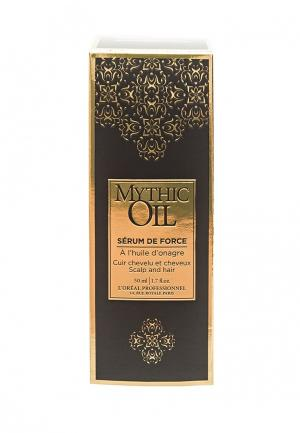 Сыворотка укрепляющая для волос и кожи головы LOreal Professional L'Oreal. Цвет: коричневый