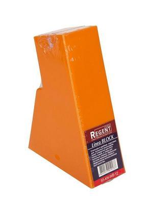 Подставка для ножей Regent inox. Цвет: оранжевый
