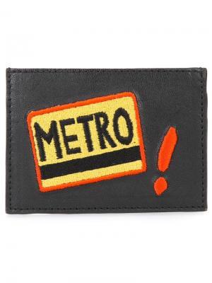 Визитница Metro Lizzie Fortunato Jewels. Цвет: чёрный