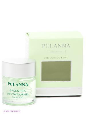 Гель для век Eye Contour Gel PULANNA. Цвет: зеленый
