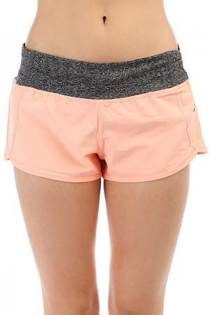 Шорты пляжные женские  Mirage Active Boardshort Peach Rip Curl. Цвет: серый,светло-розовый