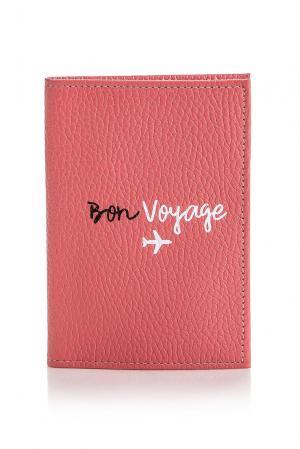 Обложка на паспорт 164417 Girls In Bloom. Цвет: розовый