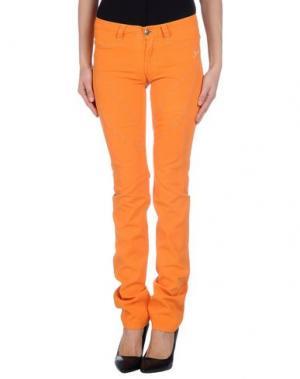 Повседневные брюки 9.2 BY CARLO CHIONNA. Цвет: оранжевый