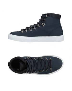 Высокие кеды и кроссовки DIEMME. Цвет: темно-синий