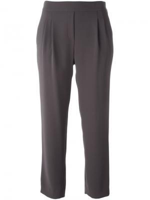 Укороченные брюки свободного кроя Steffen Schraut. Цвет: коричневый