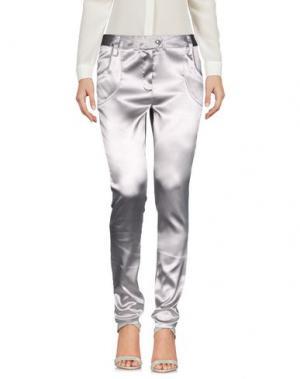 Повседневные брюки PETER A & CHRONICLES. Цвет: светло-серый