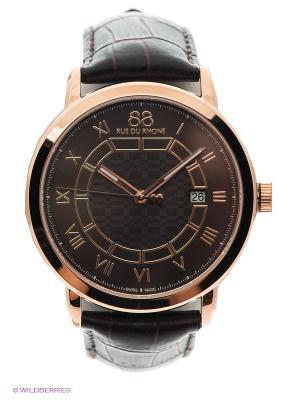 Часы 88RW Double & Origin Rue du Rhone. Цвет: золотистый, коричневый