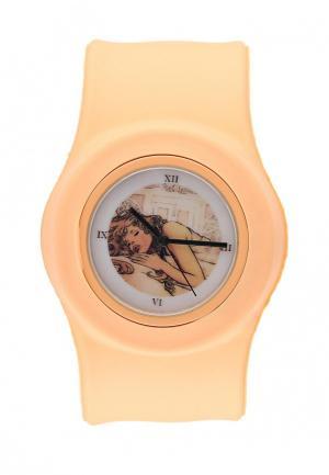 Часы Kawaii Factory. Цвет: бежевый