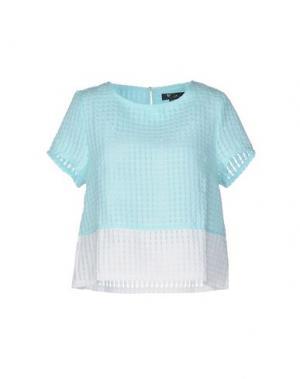 Блузка CUTIE. Цвет: небесно-голубой