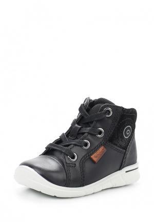 Ботинки FIRST Ecco. Цвет: черный