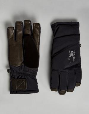 Spyder Лыжные перчатки Sweep. Цвет: черный