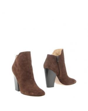 Ботинки FABIO RUSCONI. Цвет: темно-коричневый