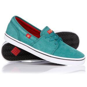 Кеды кроссовки низкие  Fisker Aqua/Green/Red VOX. Цвет: зеленый