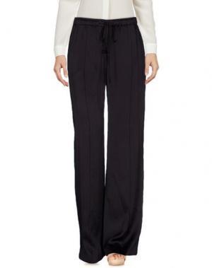 Повседневные брюки MAIYET. Цвет: темно-фиолетовый