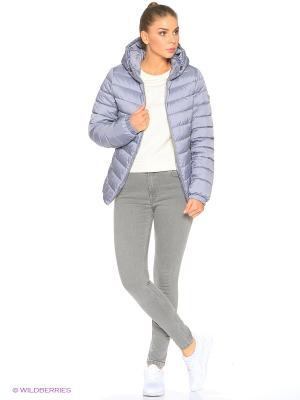 Куртка Grishko. Цвет: светло-серый