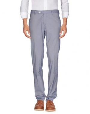 Повседневные брюки MAESTRAMI. Цвет: темно-синий