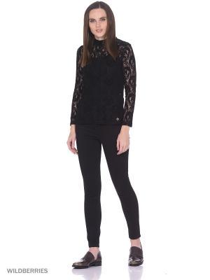 Блузка OSMA Numph. Цвет: черный