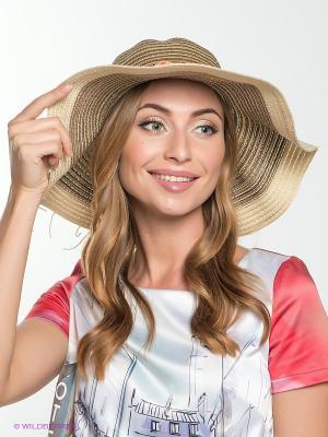 Шляпа FOMAS. Цвет: темно-бежевый