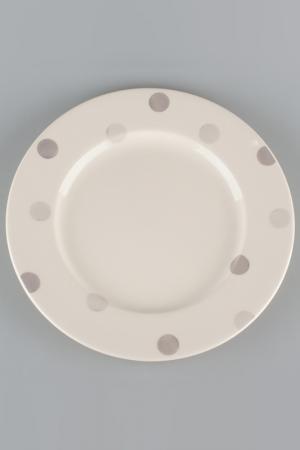 Тарелка 6 шт., 17 см Quality Cermaic. Цвет: бежевый