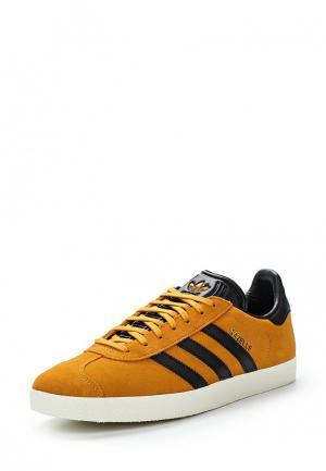 Кеды adidas Originals. Цвет: желтый